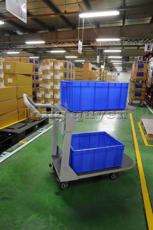 Xe đẩy vật tư đa năng xe đẩy inox trong kho hàng công ty SD Việt Nam (6)