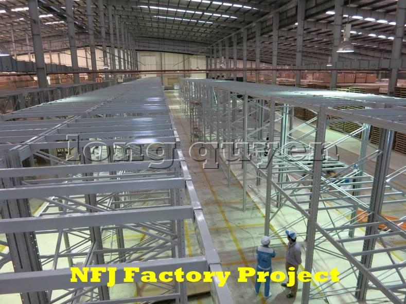 Giá kệ pallet giá kệ kho hàng lắp ráp tại nhà máy NFJ (3)