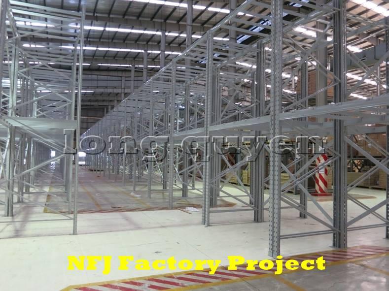Giá kệ pallet giá kệ kho hàng lắp ráp tại nhà máy NFJ (7)