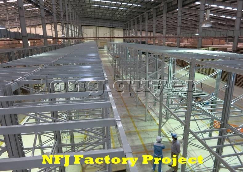 Giá kệ pallet giá kệ kho hàng lắp ráp tại nhà máy NFJ