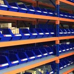Giá kệ để hàng rời hạng trung lắp đặt tại nhà máy thép Việt Đức