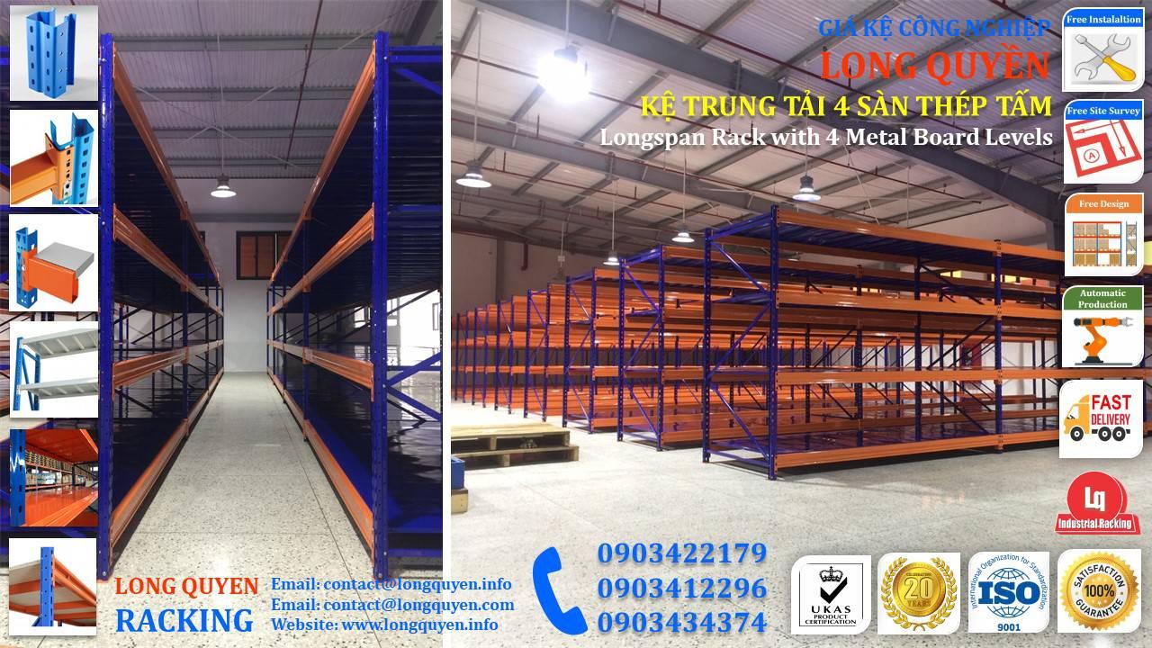 Kệ sắt kệ trung tải giá kệ công nghiệp công ty LHVNA (5)