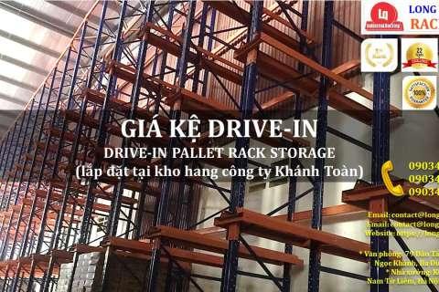 Kệ Drive-In Kệ Kho Hàng Kệ Để Hàng Lắp Đặt tại Công ty Khánh Toàn (1)