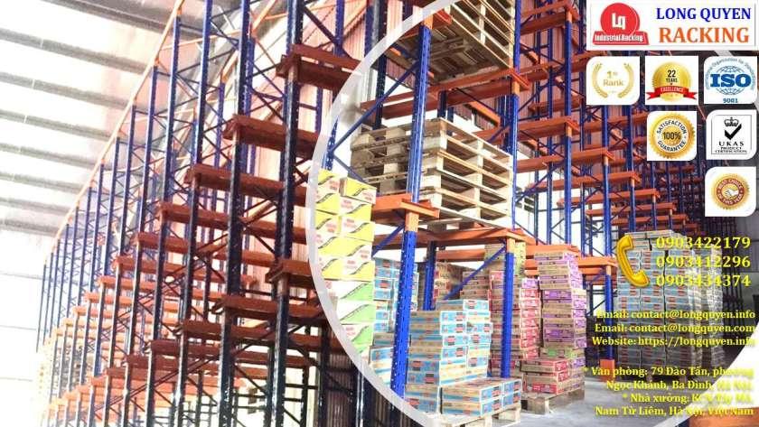 Kệ Drive-In Kệ Kho Hàng Kệ Để Hàng Lắp Đặt tại Công ty Khánh Toàn (8)