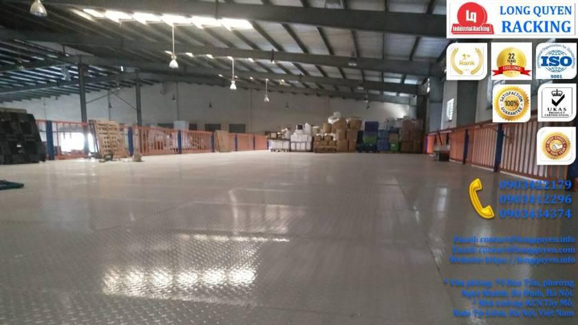 Tầng lửng gác xép sàn mezzanine công nghiệp công ty Ferroli (14)