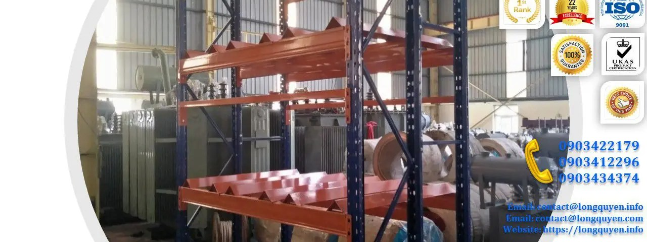 Kệ Phụ Tùng Thiết Bị Điện lắp tại công ty Biến Thế Hà Nội (1)