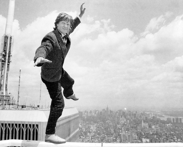 Philippe Petit Reflects Lifetime Of Fear