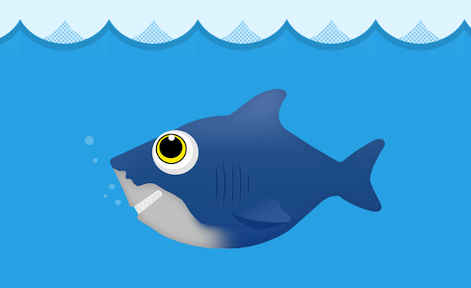 DigitalOcean Fish/Shark