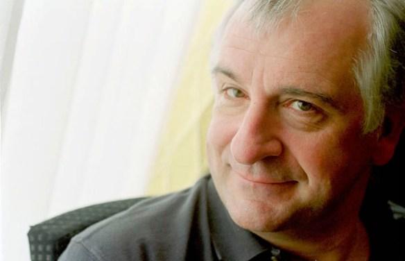 Portrait of Douglas Adams. (Photo/Michael Hughes|Creative Commons).