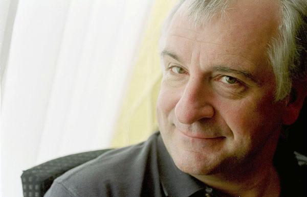 Portrait of Douglas Adams. (Photo/Michael Hughes Creative Commons).