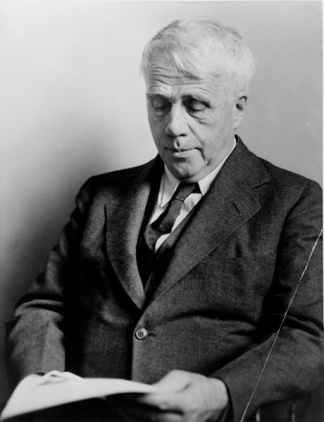 """Robert Frost"" taken by Fred Palumbo in 1941 (Wikimedia Commons)"