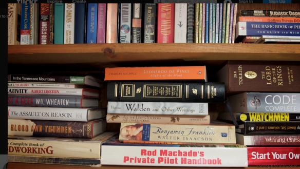 'Books' by Casey Fleser, taken on April 28, 2009. Creative Commons.