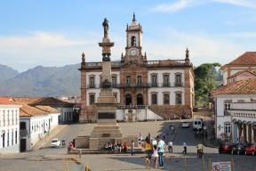 Le musée de l'Inconfidencia, sur la place principale d'Ouro Preto