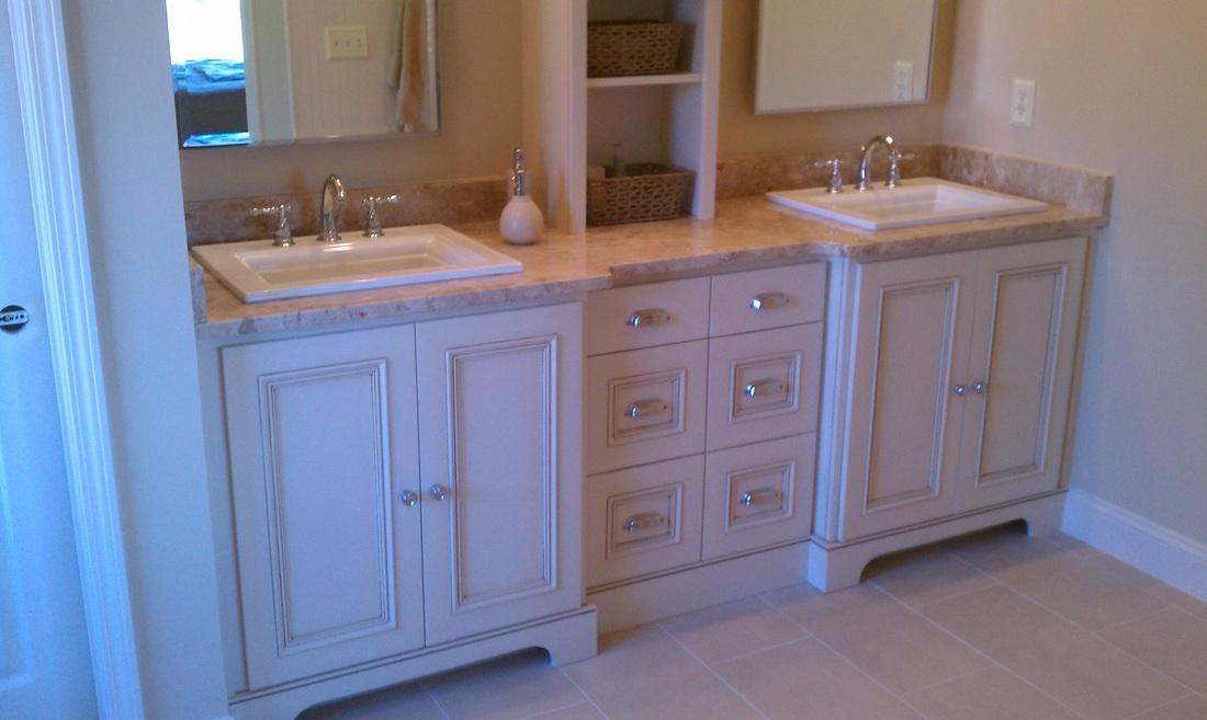Bathroom Vanities  Closets  Longs Custom Trim  Cabinets