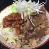 宅麺で二郎インスパイア店『夢を語れ』の汁なしを作ってみた!