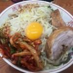亀戸二郎でヒヨって汁なし麺少なめ…がちょうどいい量だった件!