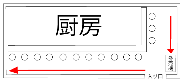 川越の中本で濃厚トマトつけ麺7