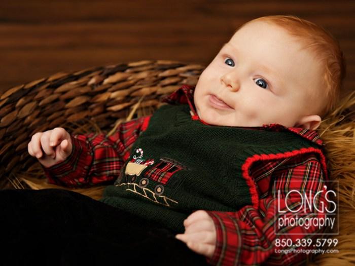 Three month baby photos Tallahassee
