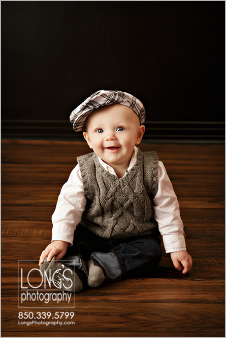 Tallahassee six month baby photos
