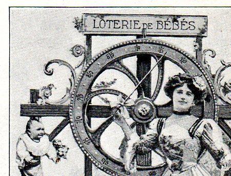 JF Ptak Science Books Baby Raffle of Paris 1912