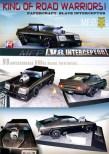 Papercraft imprimible de Mad Max - Interceptor V8. Manualidades a Raudales.