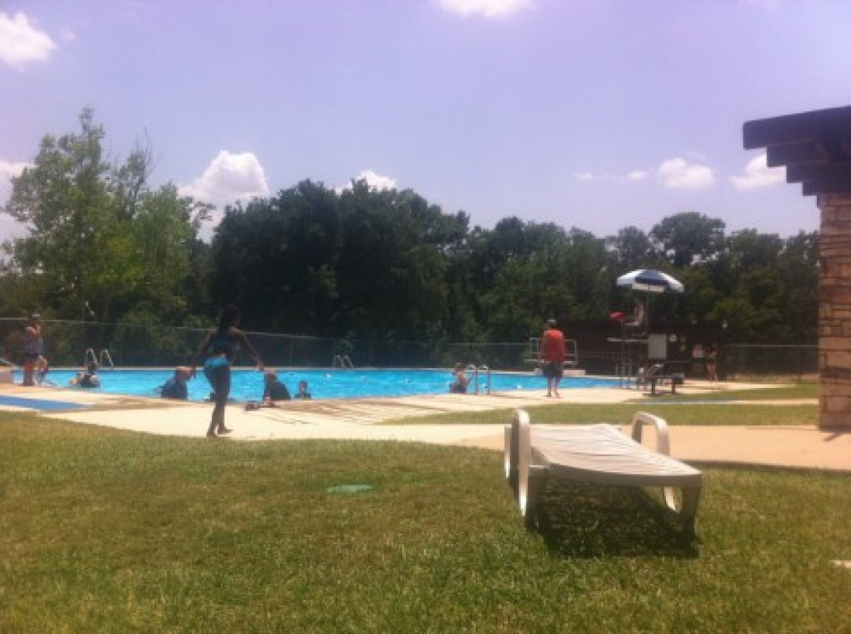 Lockhart State Park swimming pool
