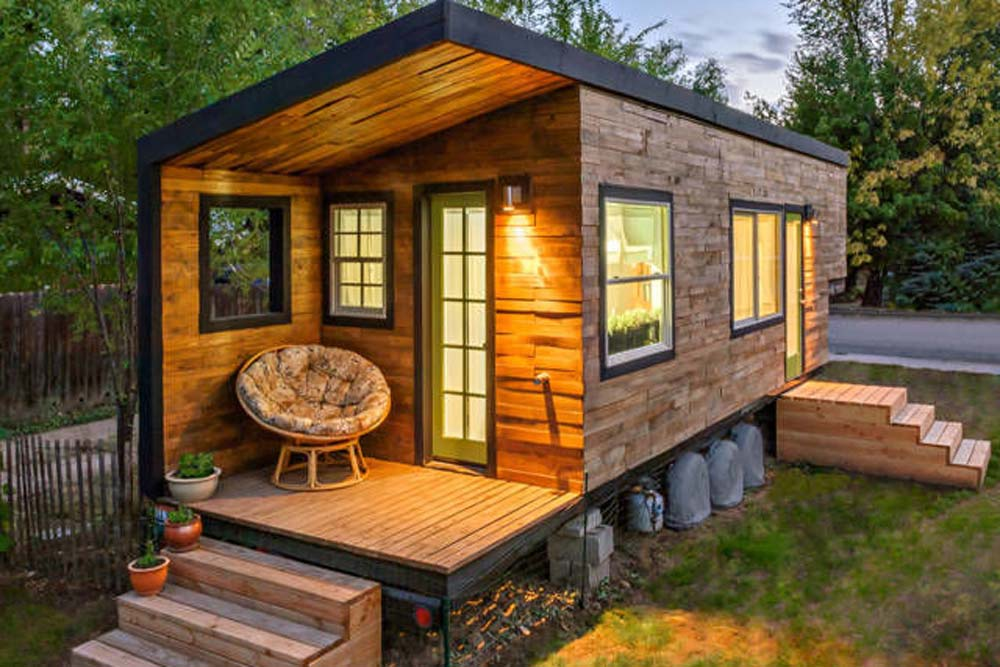 Consider downsizing - check out tiny houses!