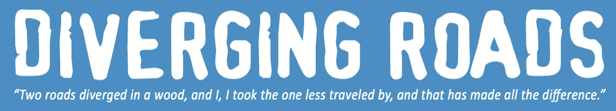 Diverging Roads header image