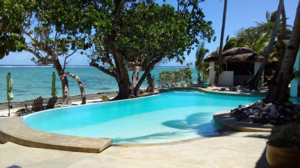 We looked after this beautiful place after Hurricane Winston - our second house and pool sit assignment in Fiji