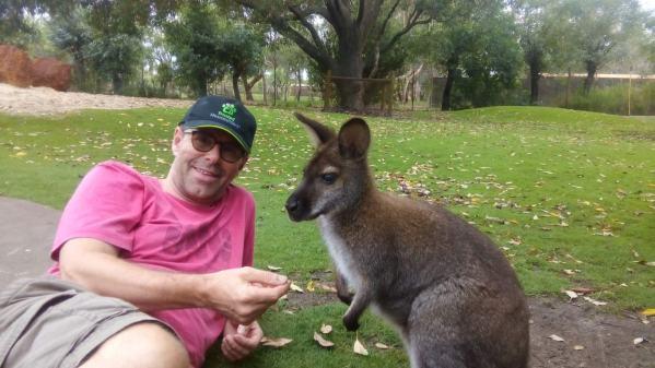 Another close encounter at Caversham Wildlife Park