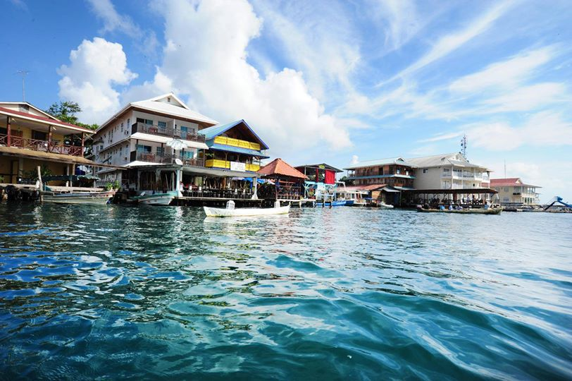 Bocas Town Seafront