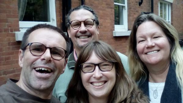 Another house sitter meetup, with fellow nomads Diane and David