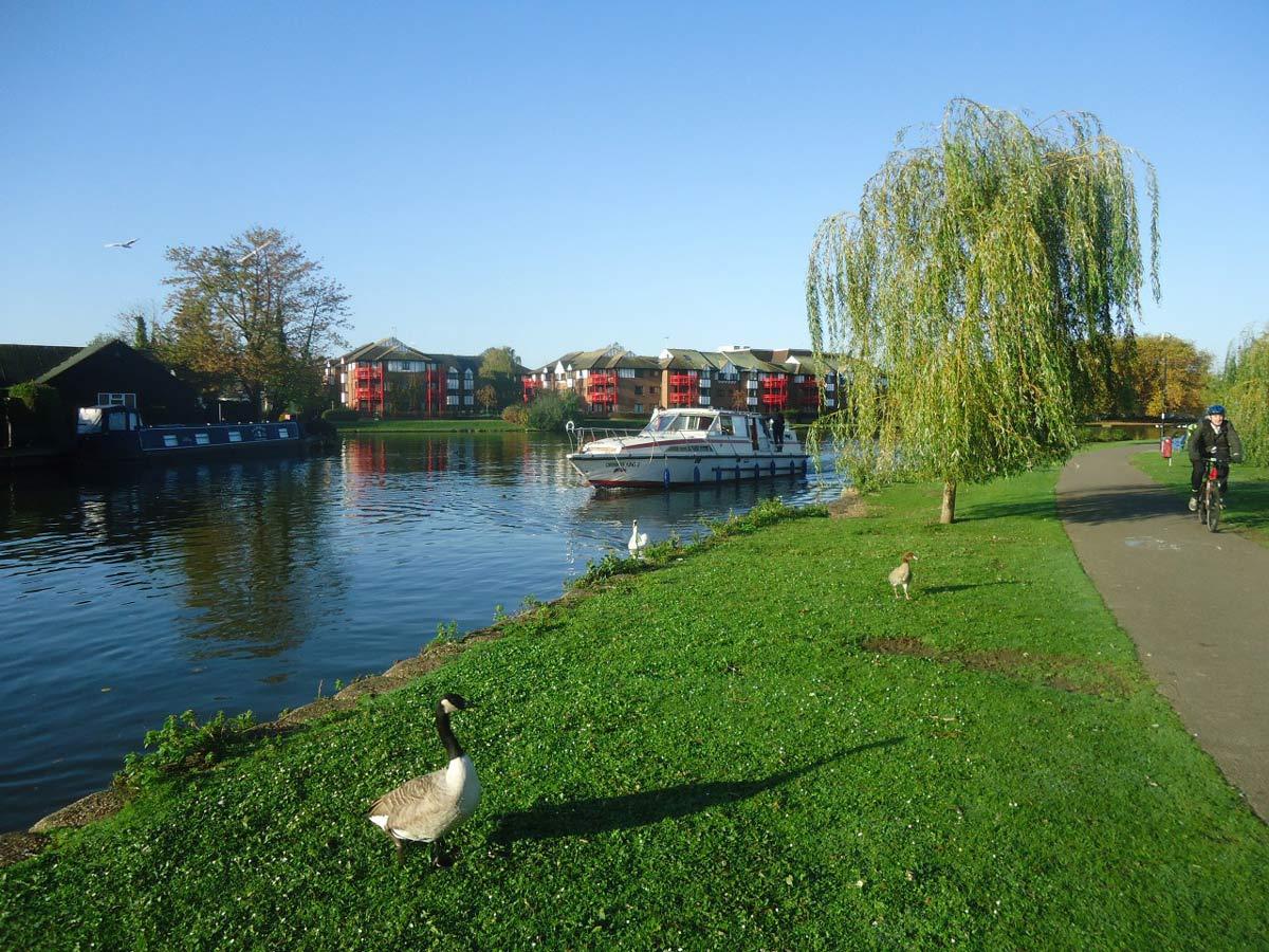 River Thames at Caversham, Reading