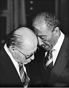 Anwar Sadat and Menachem Begin Talk Peace