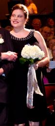 In best friend's wedding in May of 2011.