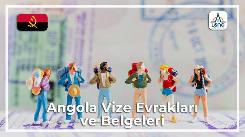 Belgeleri Ve Evrakları Vize Angola