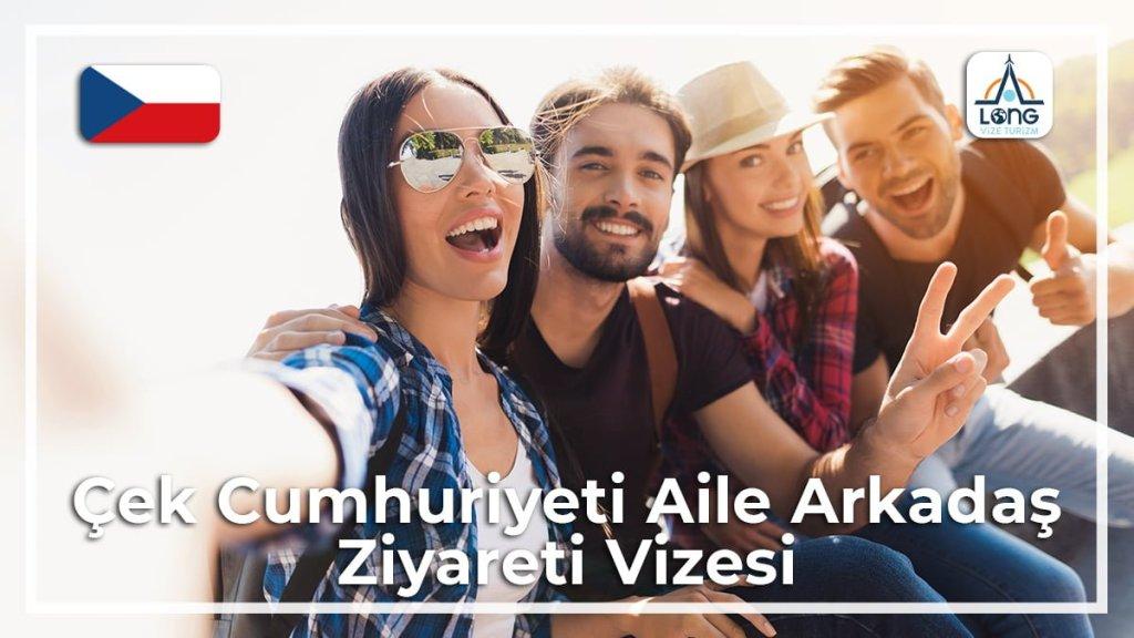 Aile Arkadaş Ziyareti Vizesi Çek Cumhuriyeti