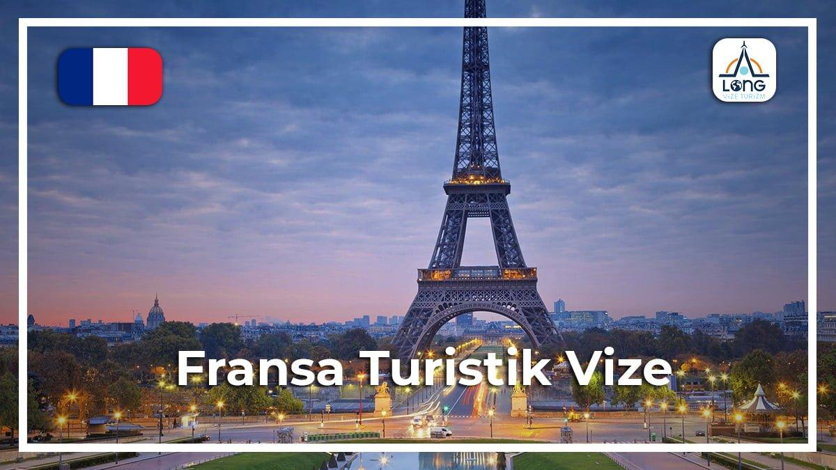 fransa turistlik vize