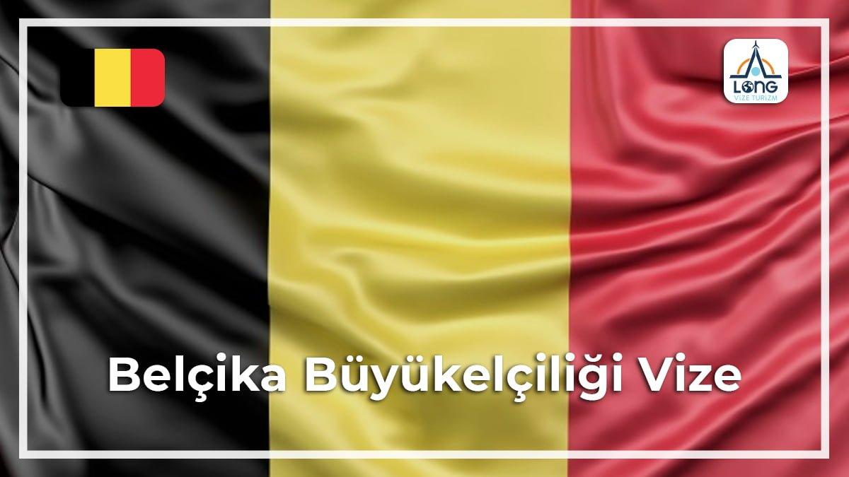 Büyükelçiliği Vize Belçika