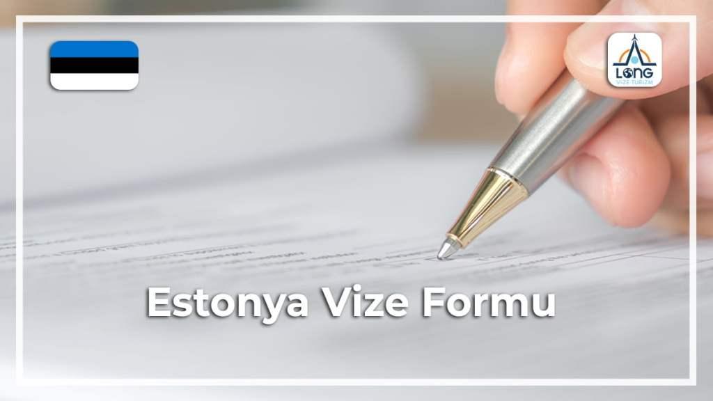 Vize Formu Estonya