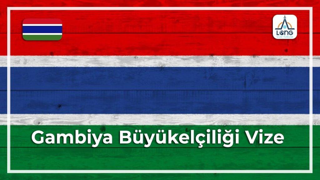 Büyükelçiliği Vize Gambiya