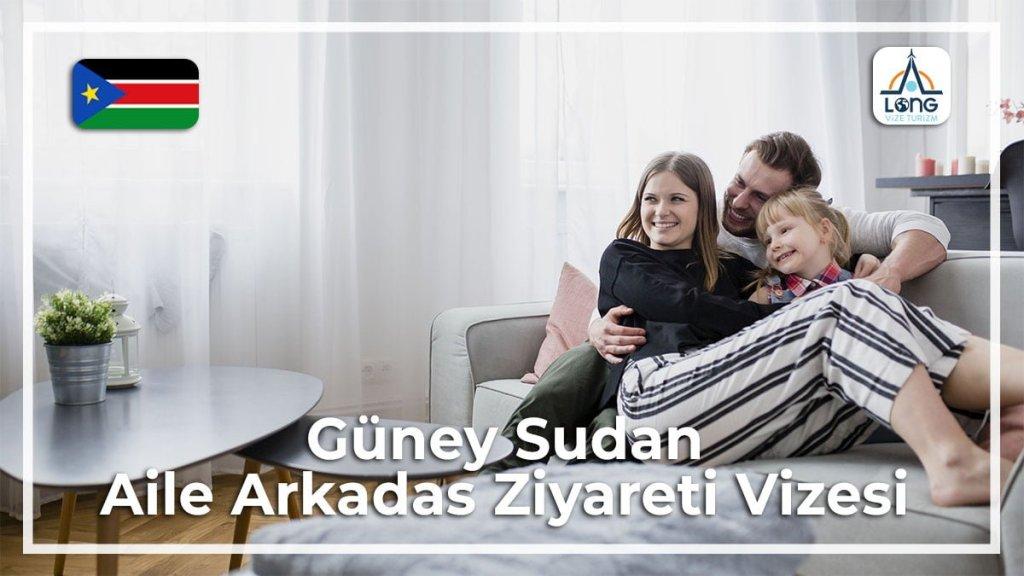 Aile Arkadaş Ziyareti Vizesi Güney Sudan