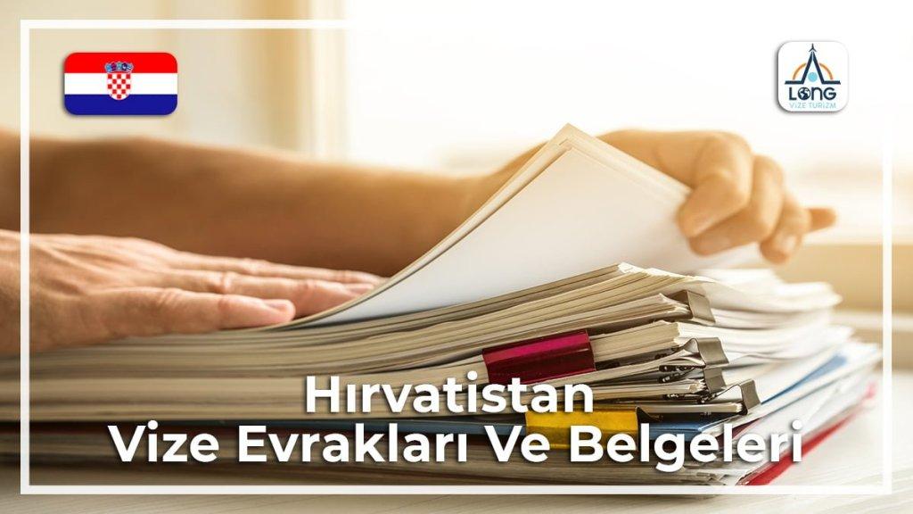 Vize Evrakları Ve Belgeleri Hırvatistan
