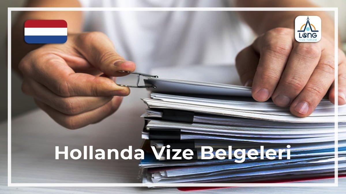 Vize Belgeleri Hollanda