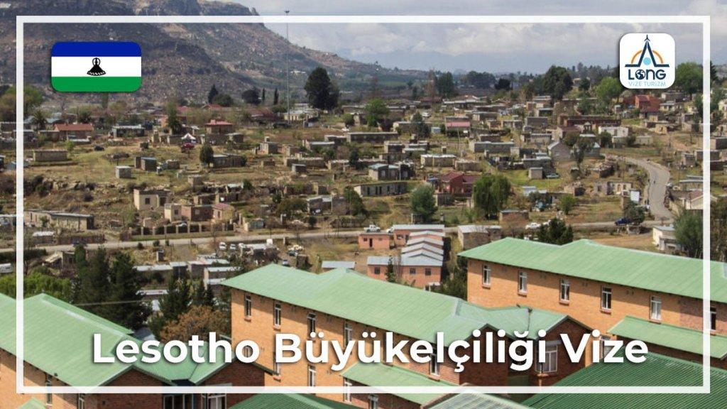 Büyükelçiliği Vize Lesotho
