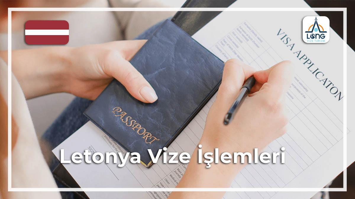 Vize İşlemleri Letonya