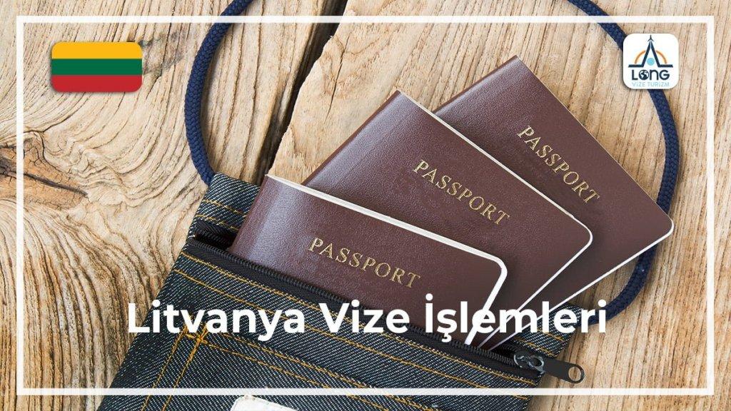 İşlemleri Vize Litvanya