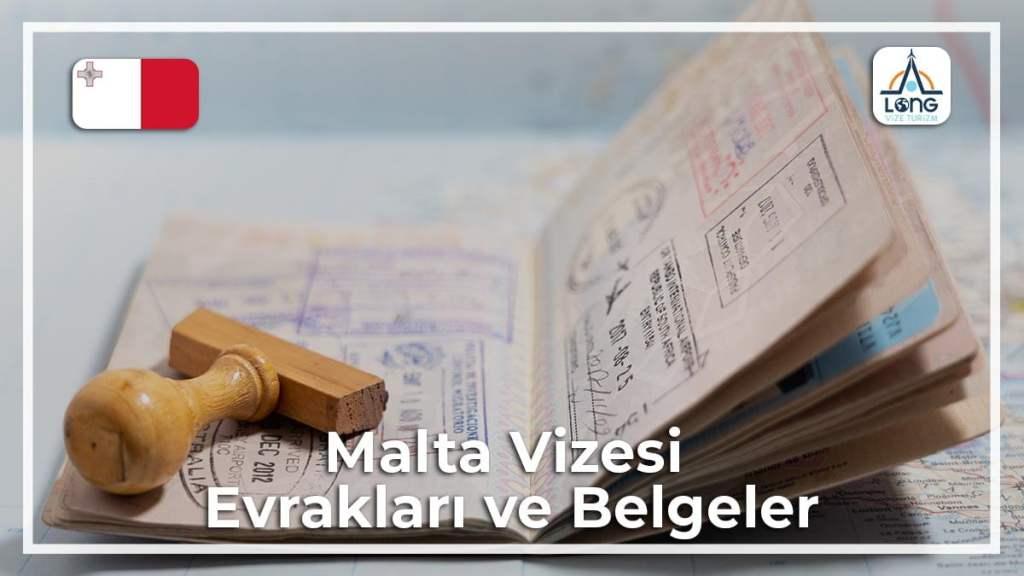 Vizesi Evrakları Ve Belgeleri Malta