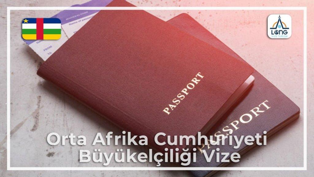 Büyükelçiliği Vize Orta Afrika Cumhuriyeti