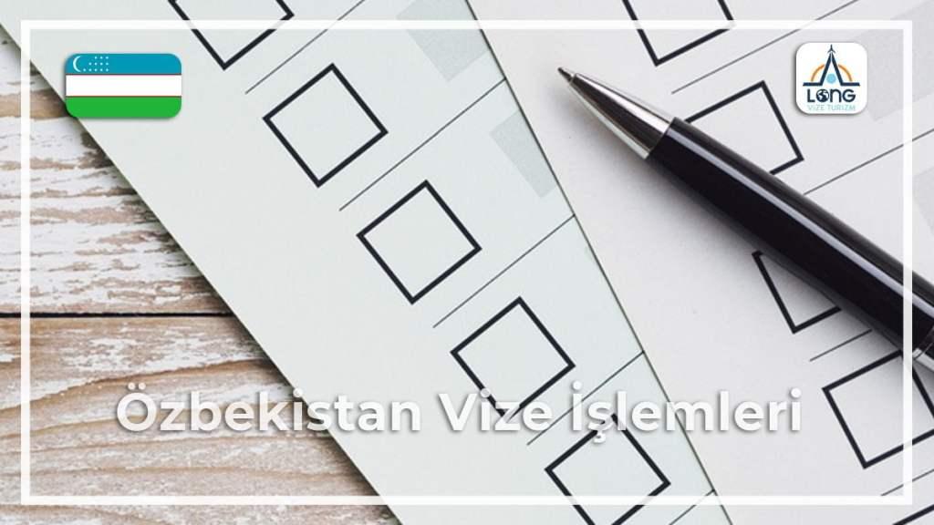 Vize İşlemleri Özbekistan